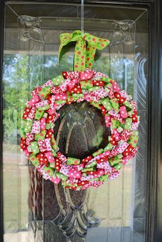 Cute Ribbon Wreath
