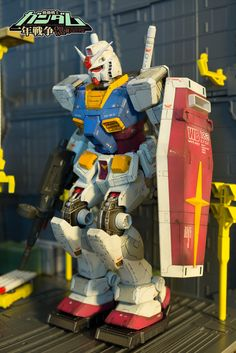 MG 1/100 RX-78-2 Gundam OYW Ver. - Painted Build w/ Weathering