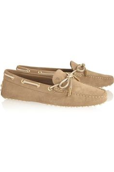 Tod's - Gommino Suede Loafers - SALE20 at Checkout for an extra 20% off
