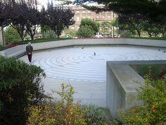 Grace Cathedral, San Francisco,  labyrinth
