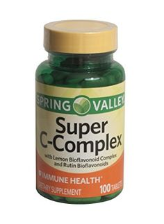 Spring Valley Super C-Complex, Immune Health, 100 Tablets * Continue with the details at the image link.