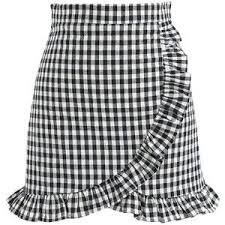 Cool Like Ruffle Skorts in Black Gingham - New Arrivals - Retro Indie and Unique Fashion Frilly Skirt, Gingham Skirt, Ruffle Skirt, Skirt Mini, Mini Skirts, Skirt Outfits, Cute Outfits, Chicwish Skirt, Golf Attire