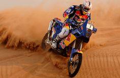 KTM rally rider...    http://www.youtube.com/watch?v=bSf_jCEAdAU=related    Rally Dakar 2011