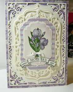 Mother's Day Iris by bhappystamper - Cards and Paper Crafts at Splitcoaststampers