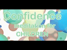 Children's Meditation For Confidence Guided Meditation, Bedtime Meditation, Meditation Kids, Mindfulness Meditation, Therapy Tools, Play Therapy, Therapy Ideas, Kid Exercise, Calendar Songs