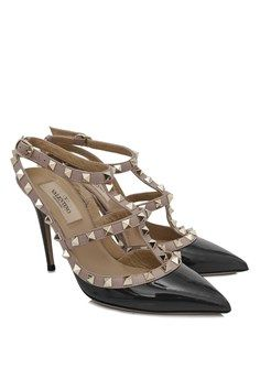 d579746648d Valentino - Pre-Owned Valentino Garavani Rockstud Ankle Strap Heels