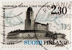 Postage Stamps, Finland, Castles, Nostalgia, Artists, Country, Stamps, Monuments, Paper Envelopes