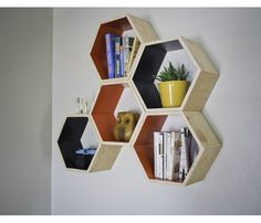 Honeycomb Shelves Set