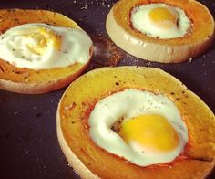 Egg in a Squash. So easy, so delicious, so nutritionally balanced! The whole recipes is at http://porkrecipe.org/posts/Egg-in-a-Squash-So-easy-so-delicious-46702