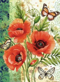 Toland Home Garden 112580 Poppie Delight Decorative Garden Flag, 12.5 by 18-Inch by Toland Home Garden. $11.99. All Toland Flags are machine washable and UV, mildew, and fade resistant. Sublimated Flag made from 600 denier polyester fabric. Toland Flags are Heat Sublimated to permanently dye fabric for long lasting color. Garden Flag Size: 12.5 inches by 18 inches. Decorative flags by Toland feature licensed artwork that is favored by flag flyers. The Poppie Delig...