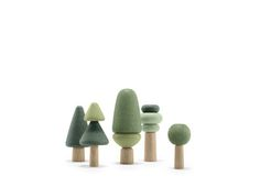 """designbinge: """"Tre by uuio (stackable wooden toy system) """""""
