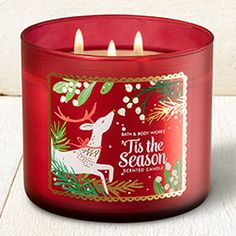 Tis the Season 3-Wick Candle - Home Fragrance 1037181 - Bath & Body Works