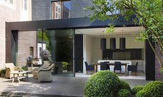 Great Home Improvement Projects that Require No Planning Permission - House Extension Online House Extension Design, Glass Extension, Roof Extension, House Design, Extension Ideas, Extension Google, Style At Home, Modern Exterior, Exterior Design