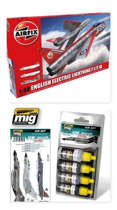 English Electric Lightning F1/F1A/F2/F3 1/48 Airfix (Combo-Pack)