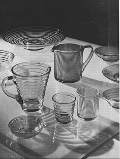 Karhula - pressat hushållsglas Tableware, Glass, Kitchen, Dinnerware, Cooking, Drinkware, Tablewares, Corning Glass, Kitchens
