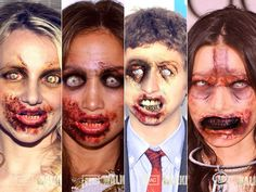 """10 Awesome """"The Walking Dead - Dead Yourself"""" Celebrities - Photos"""