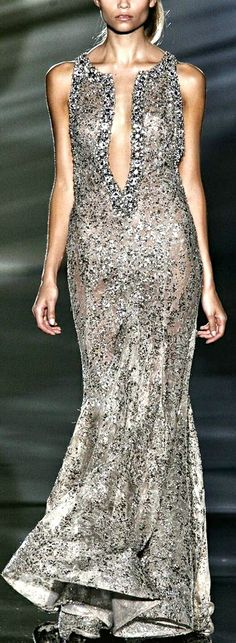 Elie Saab - would require a bit of front closure for me, but love it just the same.