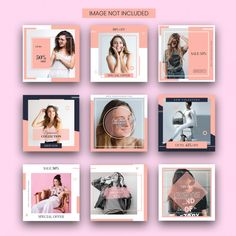 - Discover thousands of Premium PSD available in PSD and JPG formats Instagram Feed Layout, Feeds Instagram, Instagram Grid, Instagram Frame, Instagram Post Template, Instagram Design, Instagram Posts, Social Media Template, Social Media Design