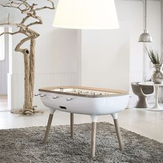 The Pure, the design foosball table by Debuchy by Toulet - Billards Toulet - Baby-foot Debuchy by Toulet - News and press releases