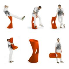 Flod Stool by Azuamoline for Mobles 114