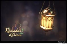 Ramadan Kareem with Arabian Lantern - Islamic Greeting Cards and Wallpapers !!!