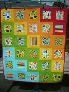 The Elven Garden: Finished Quilts 2011 would be a fun format for a kid's I Spy...
