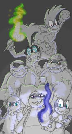Igggy what the heck Super Mario Bros Nintendo, Super Mario Games, Super Mario Art, Super Mario Brothers, Nintendo Games, Morton Koopa, Mario Fan Art, Mario Memes, Cute Art Styles