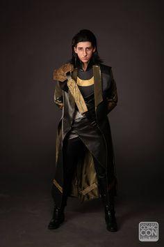Loki cosplay at Salt Lake Comic Con 2015