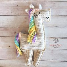 Ravelry: Ragdoll Unicorn by Spin a Yarn Crochet