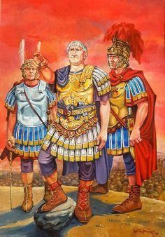 Roman Emperor Trajan in the Dacian campaign. Ancient Egyptian Art, Ancient Aliens, Ancient Rome, Ancient Greece, Roman History, European History, American History, Roman Warriors, Roman Legion