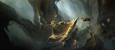 cinemagorgeous:  Gorgeous sci-fi concept art by the brilliantMartin Deschambault.