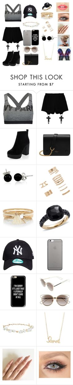 """""""Amy #1"""" by megxnmclxren ❤ liked on Polyvore featuring Ivy Park, Chicnova Fashion, New Look, Mulberry, Bling Jewelry, Forever 21, River Island, Pomellato, Native Union and Casetify"""
