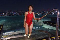 屋外 競泳水着画像掲示板へ投稿されたZhyphen様の競泳水着画像 No:12386