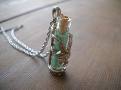 Fairy Dust Necklace. I had one from my grandma. It was my favorite necklace. so sad that i lost it.