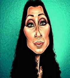 Famous People Caricature Art | Caricatures of Famous People | Warm Photos- cher