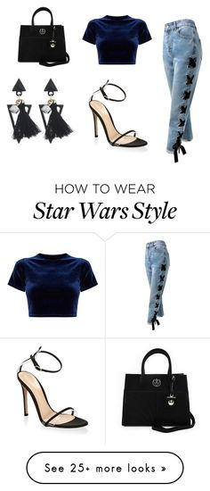 """""""Sem título #412"""" by alvezz on Polyvore featuring Sans Souci, Gianvito Rossi and Loungefly"""
