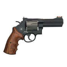 Smith & Wesson: Model 44 Magnum Revolver with HI-VIZ Sight for sale at Sportsman's Outdoor Superstore. Smith And Wesson Revolvers, Smith N Wesson, Rifles, 44 Magnum, Revolver Pistol, Cool Guns, Self Defense, Personal Defense, Guns And Ammo