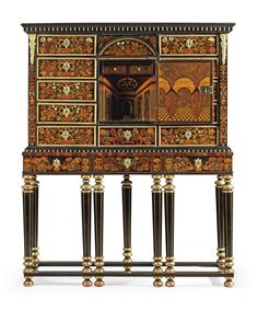 European Furniture, French Furniture, Antique Furniture, Parquetry, Stage Set, Louis Xiv, Small Drawers, Museum Of Fine Arts, France