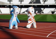 Wenlock and Mandeville - official mascots for 2012 London Olympics Olympic Mascots, London Olympic Games, I Am The Walrus, Dream Meanings, 2012 Summer Olympics, Trivia Quiz, Sporting Live, Usain Bolt, All Games
