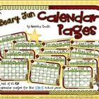 This adorable set of calendar pages for the 2014-2015 school year is a perfect add-on to my Beary Fun Classroom Theme Kit! If you decorate with bea...