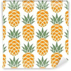 Pineapple Vector Images (over - Page 2 Pineapple Pattern, Pineapple Print, Framed Canvas Prints, Canvas Frame, Pineapple Illustration, Pineapple Wallpaper, Kitchen Artwork, Cute Backgrounds, Patterns