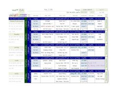 Weekly lesson plans - Computer-based; 9 different pre-made color schemes. Use your own fonts & colors to personalize. Save an entire year's worth of plans in one place.