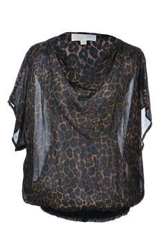 Michael by #MichaelKors | Stylishe Bluse mit Leopard-Print, Gr. XL | Michael Kors | mymint-shop.com | Ihr Online Shop für #Secondhand / #Vintage #Designerkleidung & Accessoires bis zu -90% vom Neupreis das ganze Jahr #mymint