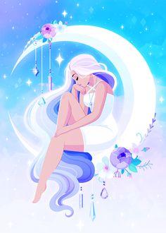 Brogan Coral Cartoon Art Styles, Cute Art Styles, Cartoon Drawings, Digital Art Girl, Witch Art, Magic Art, Animes Wallpapers, Kawaii Art, Anime Art Girl