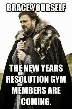 All Out Effort: The New Year Means Gym Resolutions Right?