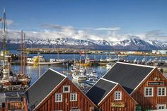 Probably the most picturesque town in whole Iceland: Húsavík! / For 91 Days Select