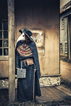 Plague doctor 6 by Agcooper73.deviantart.com on @DeviantArt