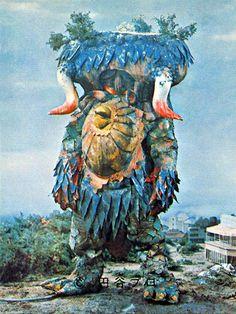 """かっぱ超獣キングカッパー King Kappa, the Kappa Super Beast; from """"Ultraman Ace"""" 1972"""