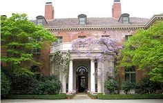 This is the main entrance to Filoli House. The home and gardens are gorgeous and fun to visit.