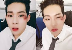 """[#JOOHEON] Monbebes, cold weather and long time no see to #HoneyPlayer ㅎㅎ Go watch Inkigayo broadcastㅋㅋㅋ #nothings_gonna_change_my_love_for_you #westlife #honeyplayer """"translated by fymonsta-x ϟ take..."""